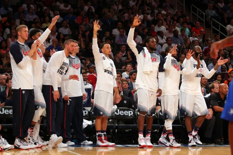 Basketball: Dominican Republic at USA