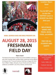 Freshman Field Day Flyer