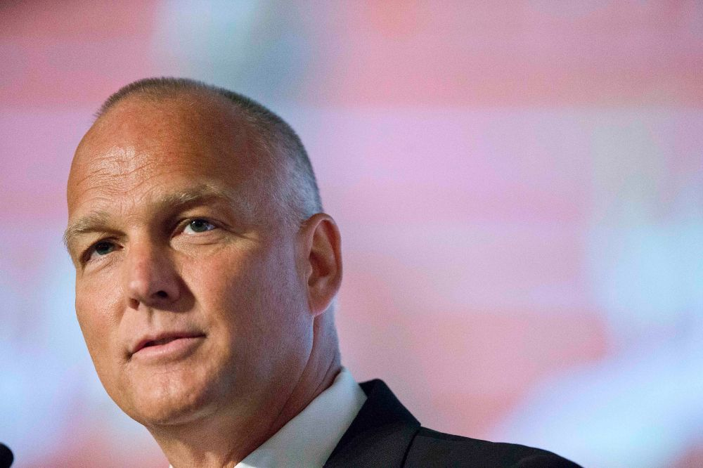 Georgia coach Mark Richt speaks to the media at the Southeastern Conference NCAA college football media days, Thursday, July 16, 2015, in Hoover, Ala. (AP Photo/Brynn Anderson)