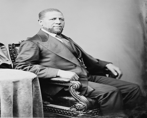 Hiram Revels (R), First African American Senator
