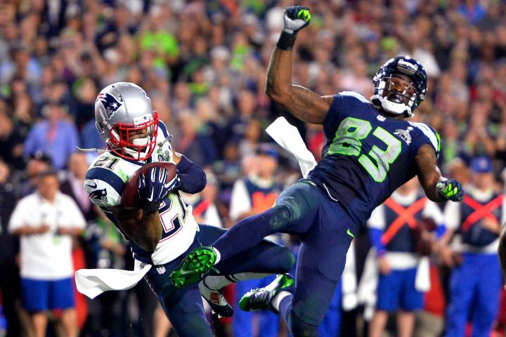 Super Bowl XLIX Seattle Seahawks against the New England Patriots