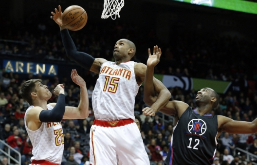 luc-richard-mbah-kyle-korver-al-horford-nba-los-angeles-clippers-atlanta-hawks
