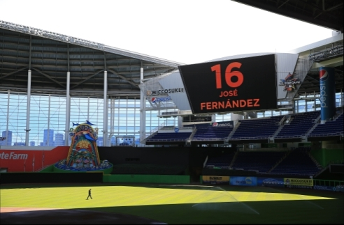 MLB: Miami Marlins-Press Conference